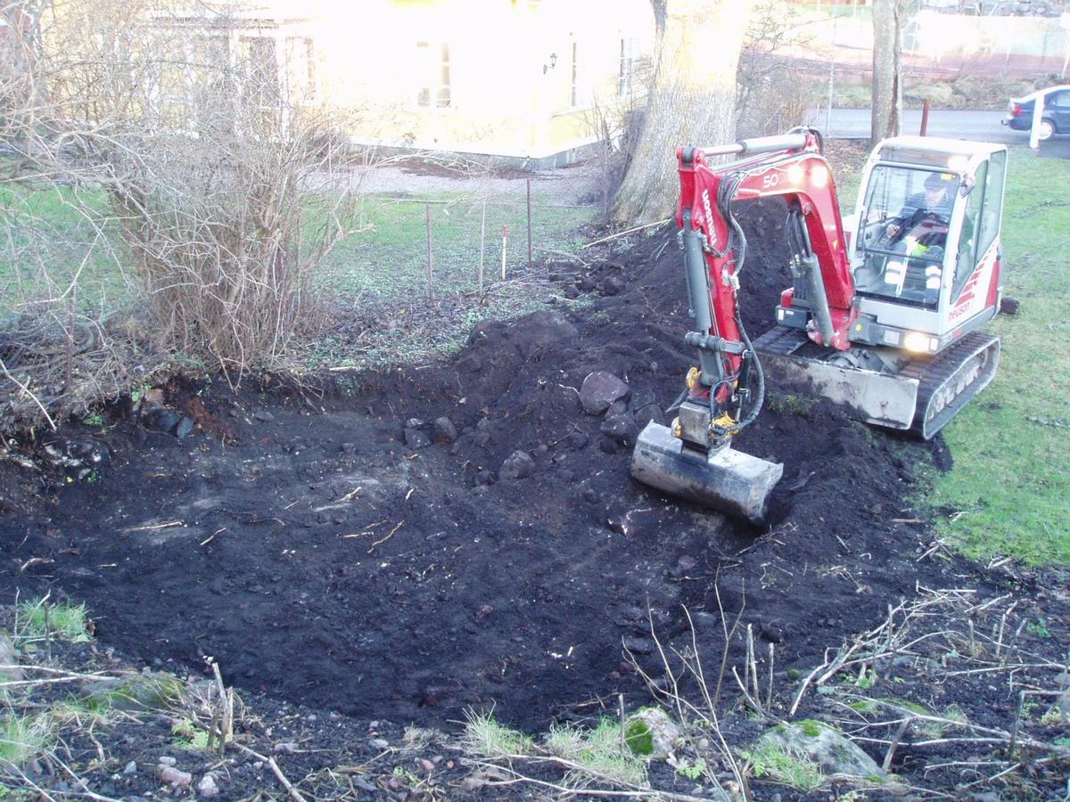 Arkeologisk schaktningsövervakning, kvarteret Cedern, Öregrund 2007