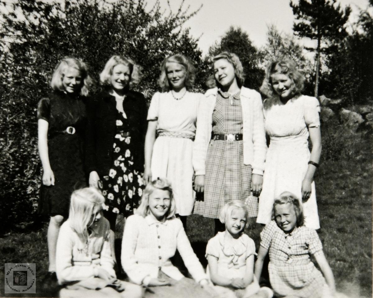 Ungjentene på Birkeland i Konsmo, Audnedal.