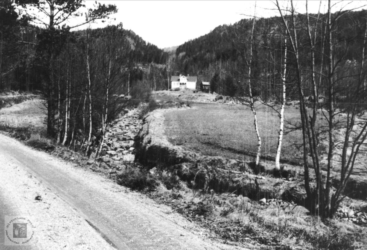 "Garden ""Urdalen"" i Bjelland."