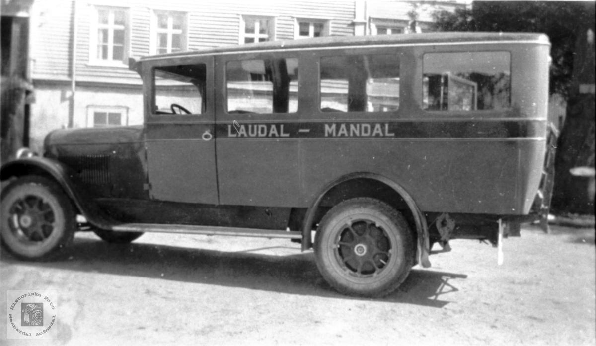 Buss Laudal - Mandal.