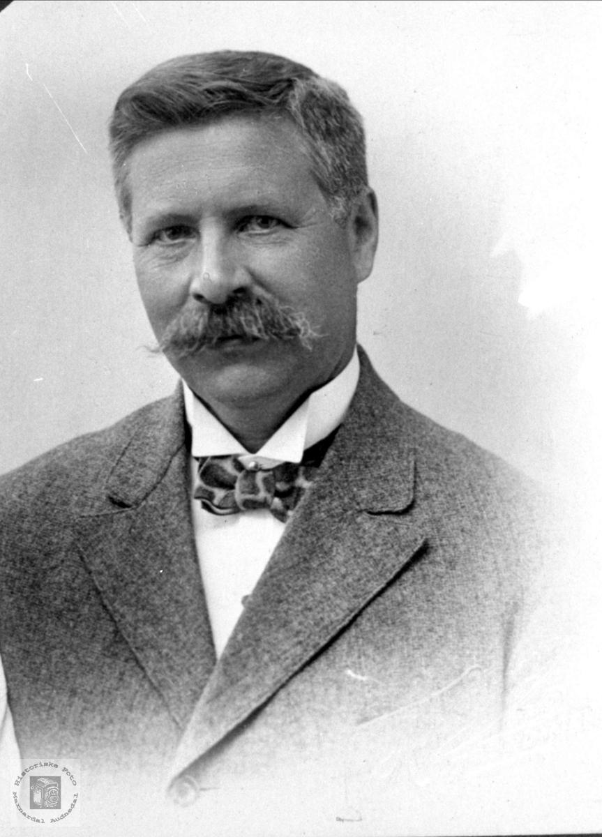 Portrett av Nils Sivertsen, Øyslebø.