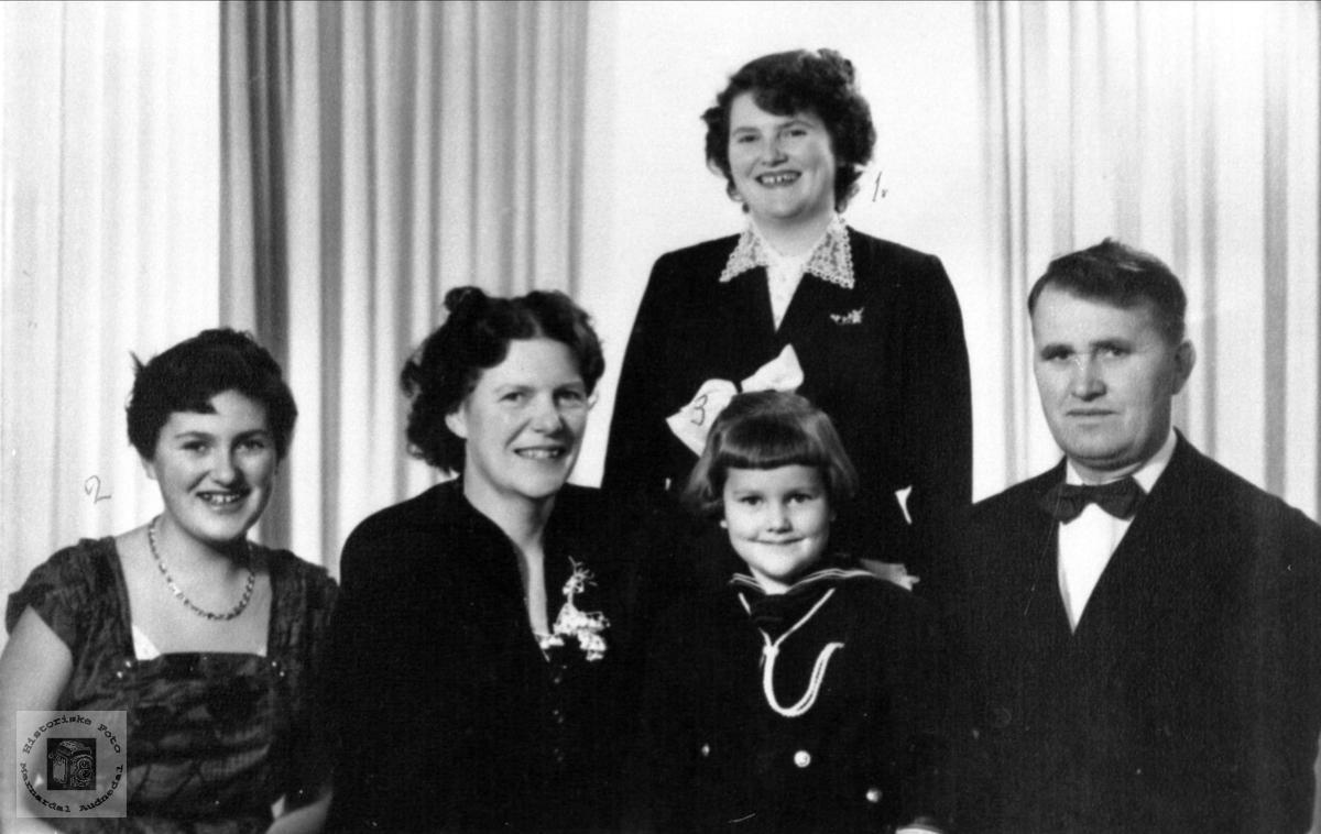 Familien Alfred Skaar.