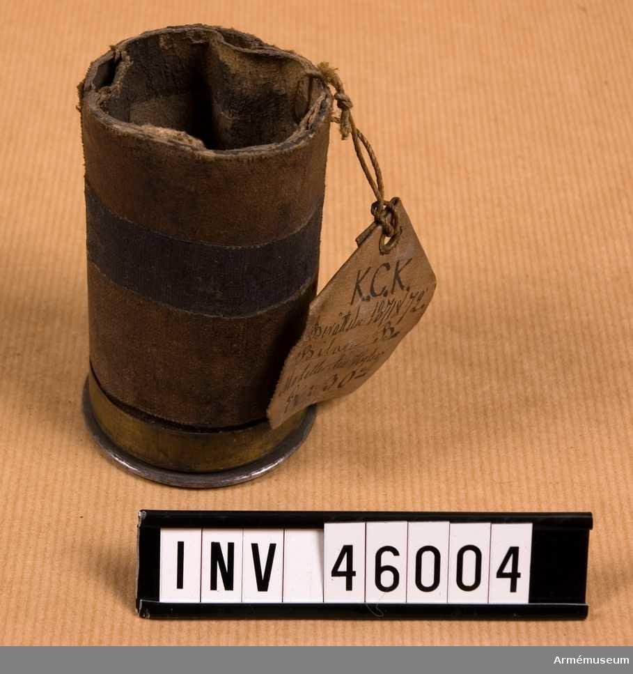 Grupp E II. Förändrad från lös patron till användning för skarpa skott; till skarp ammunition. Vintern 1871-72.