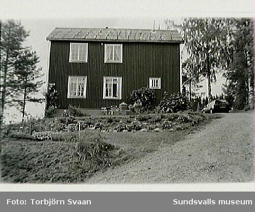 Bostadshuset är f d baptistkapellet.