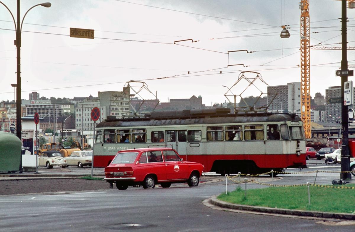 Ekebergbanen, Oslo Sporveier. Jernbanetorget.