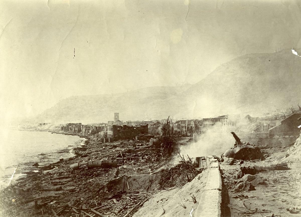Motiv: Katastrofen på Martinique 8 mai 1902
