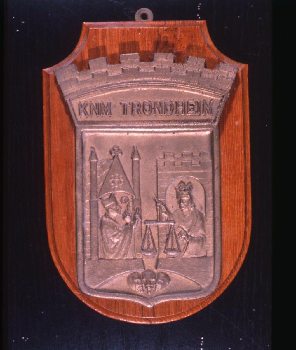 Motiv: Emblem størrelse mini for jageren KNM TRONDHEIM