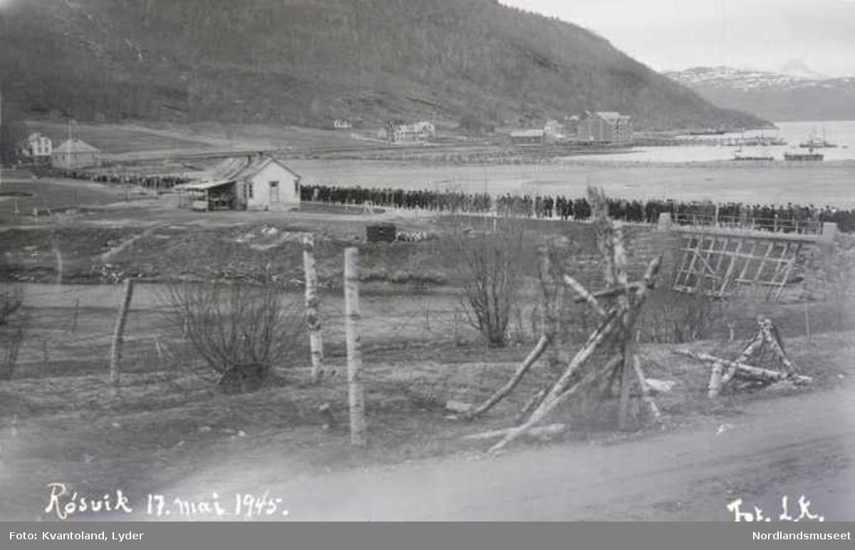 Røsvik, 17.mai 1945