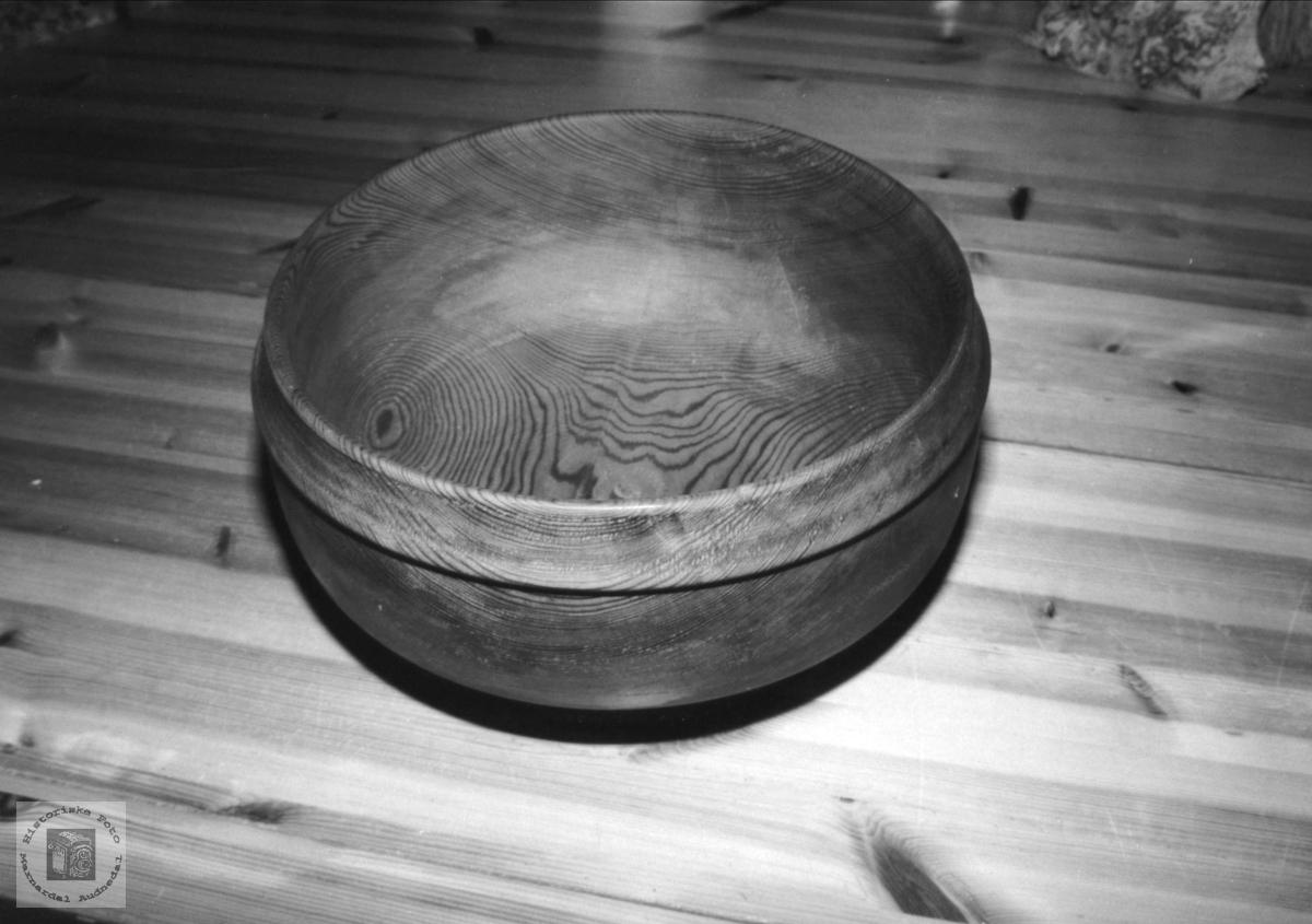 Ca. 3000 år gammel trevirke lagt til bolle