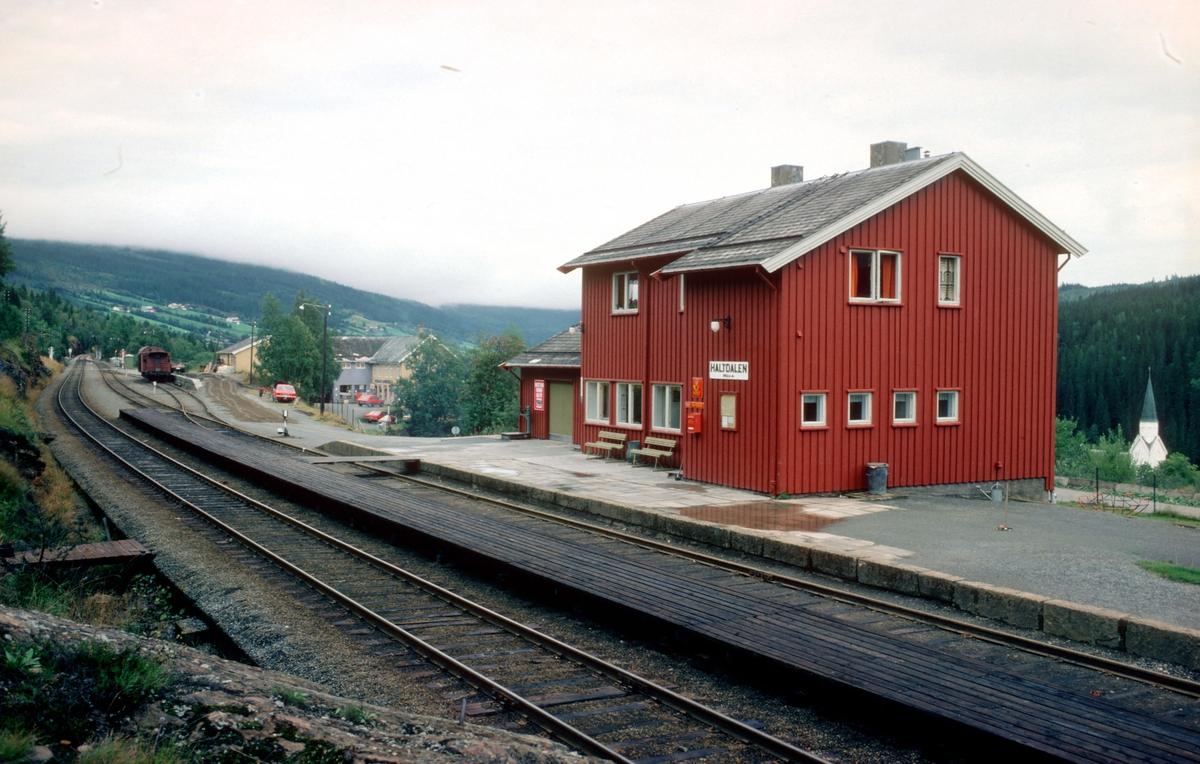 Haltdalen stasjon, Rørosbanen.