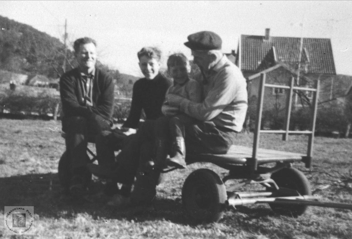 Gruppe fra Øyslebø