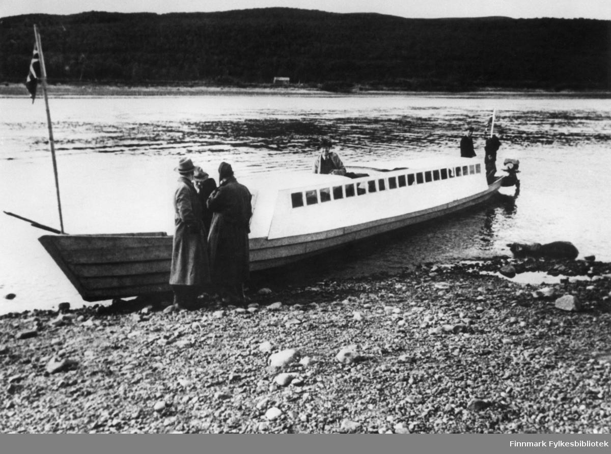 Birger Pedersens skyssbåt.