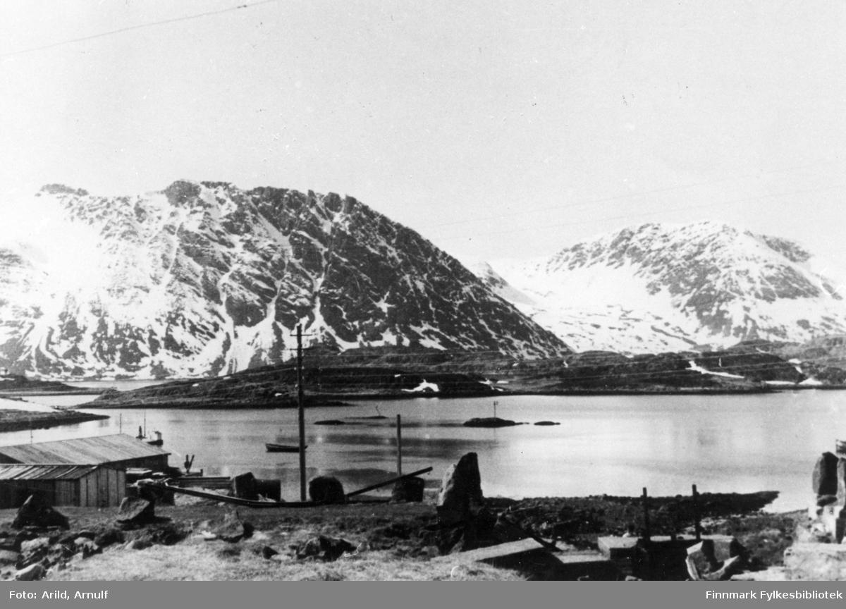 Fylkesvei i Bergsfjord.