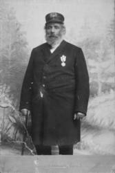 Portrett av tollbetjent og havnefogd Michael Julius Michaels