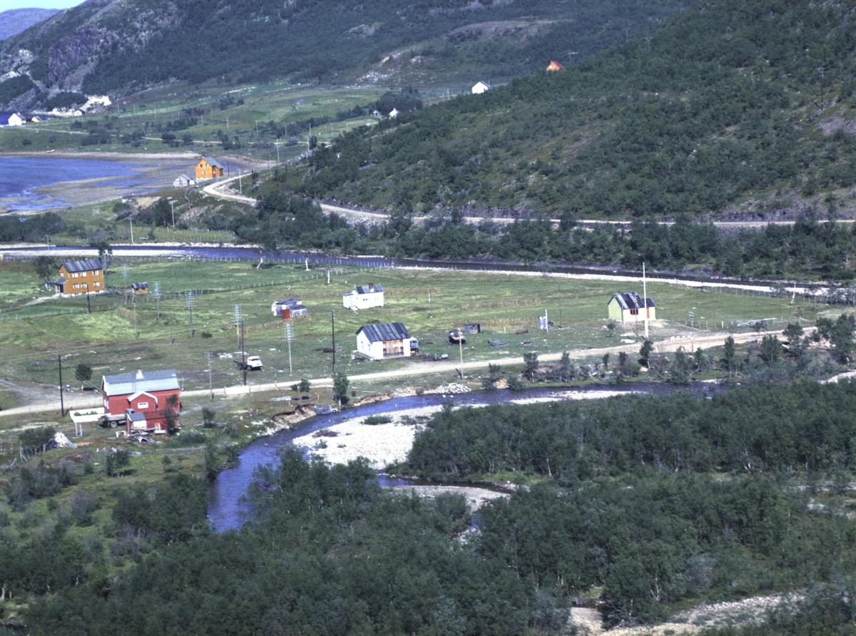 Flyfoto fra Kunes. Negativ nr. 122654.