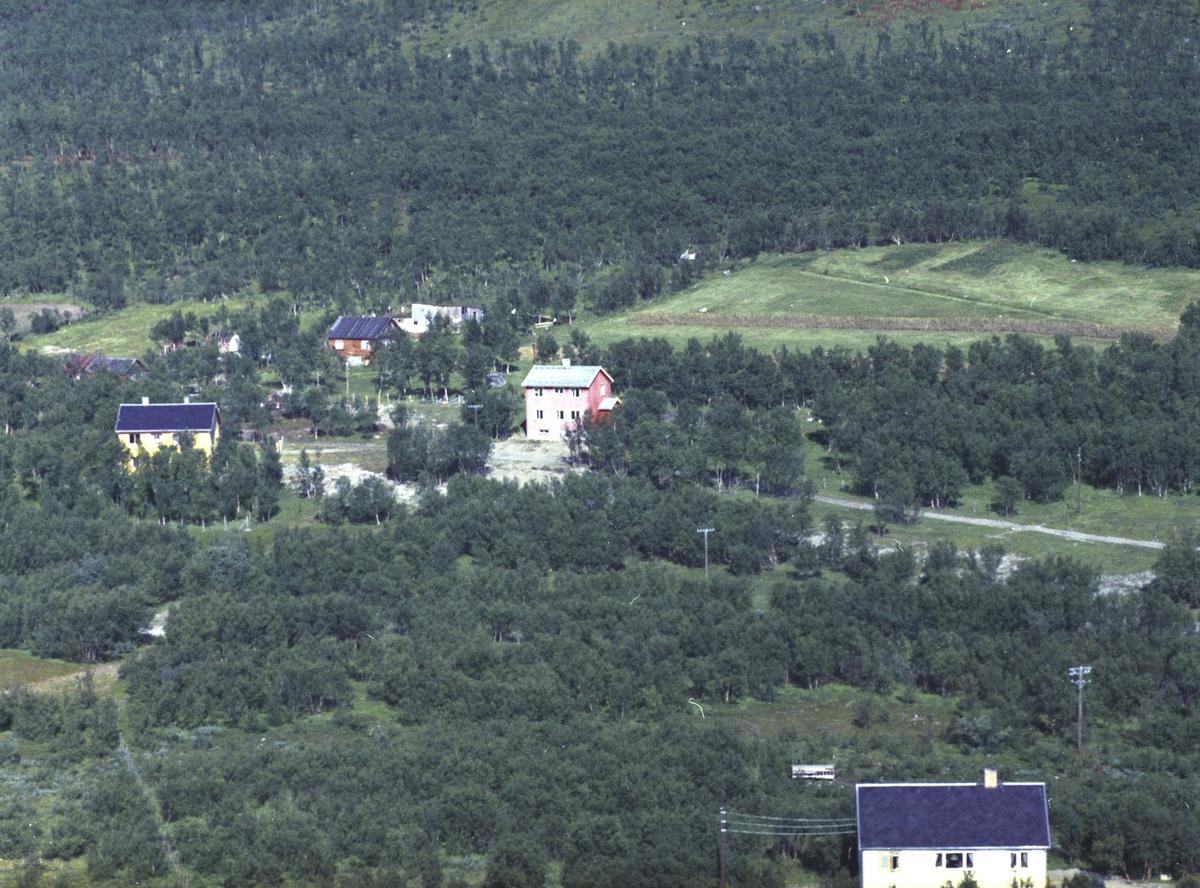 Flyfoto fra Lebesby. Negativ nr. 122716.