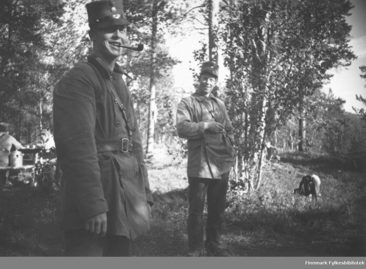 Fra venstre: Ole Bull og Svenningsen