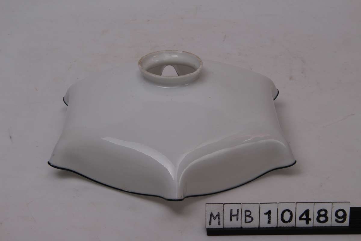 Sekskantet lampeskjerm til pendel.