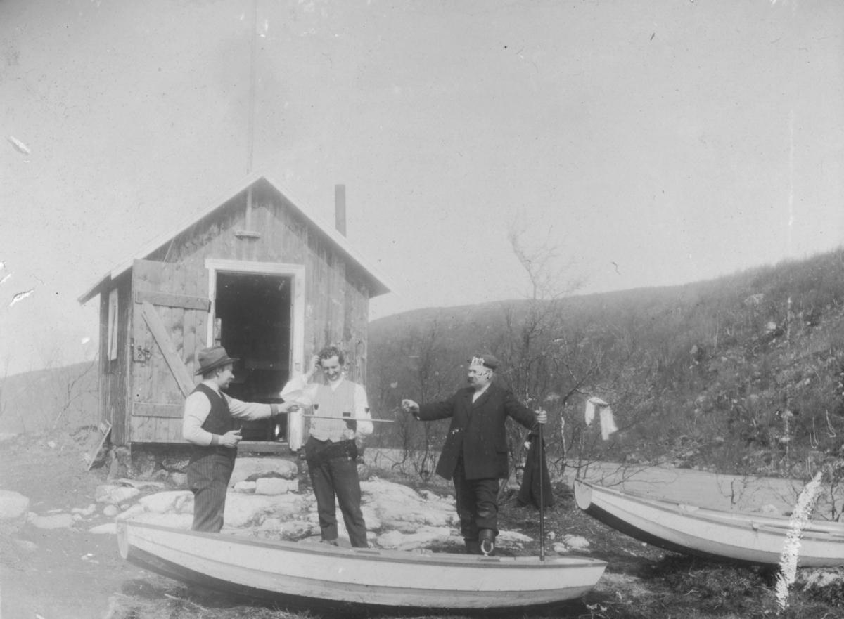 1911-Pinsedag. Minner fra en av de herligste dager ved Tårnelven -gemytligheten leve