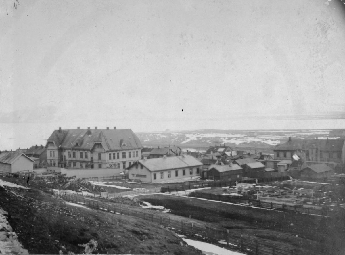 Vardø sykehus og andre bygninger