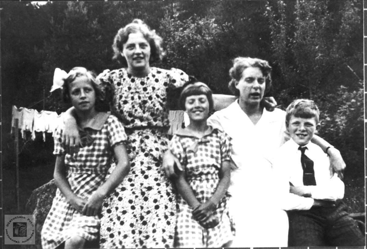 5 søstre på Stedjan