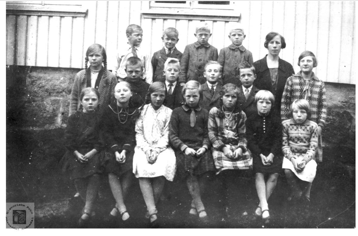 Skoleklasse Ågedal