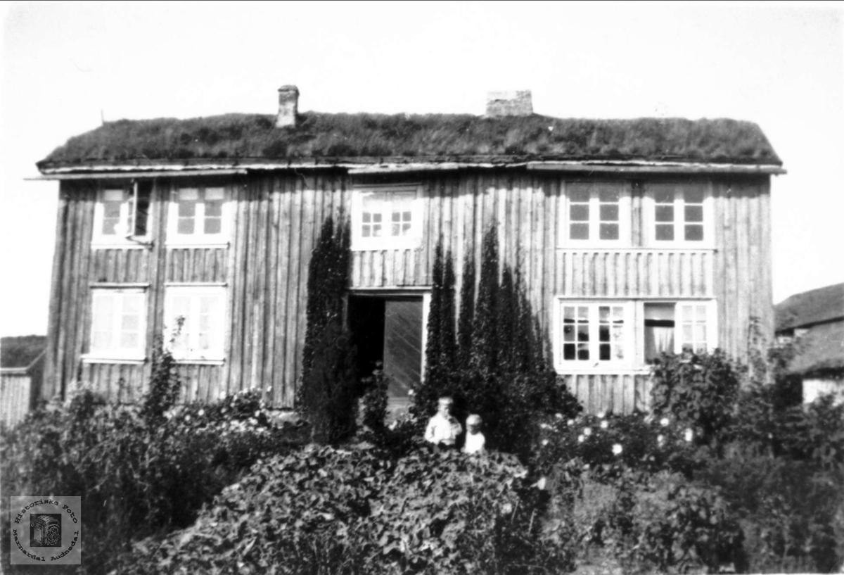 Gamlehusa på Moland.