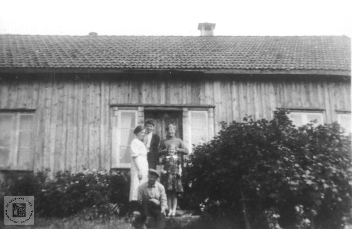 Familiegruppe på Kimestad i Finsland.
