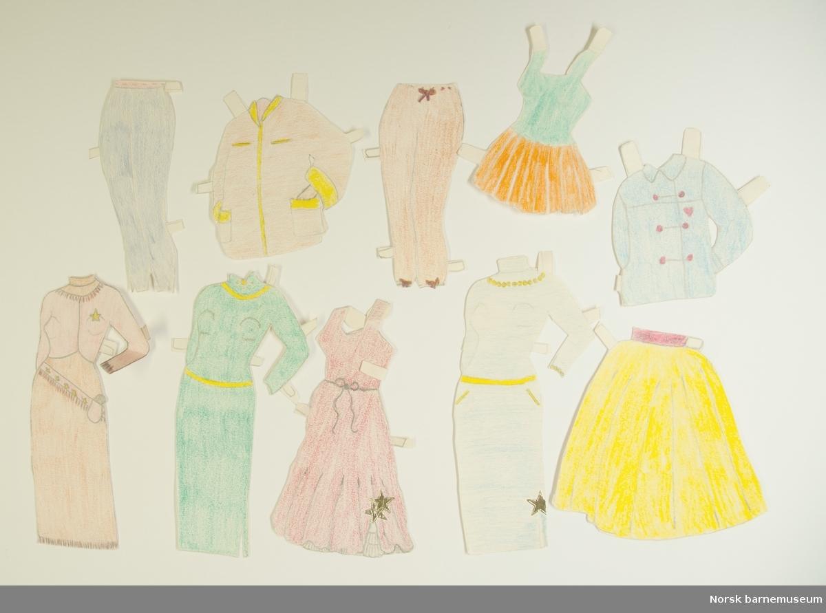 Dukke med klær