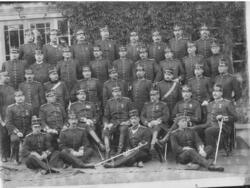 Under Regementmötet år 1899