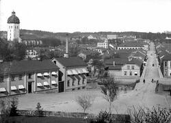 Stora Brogatan från Tekniska skolan.