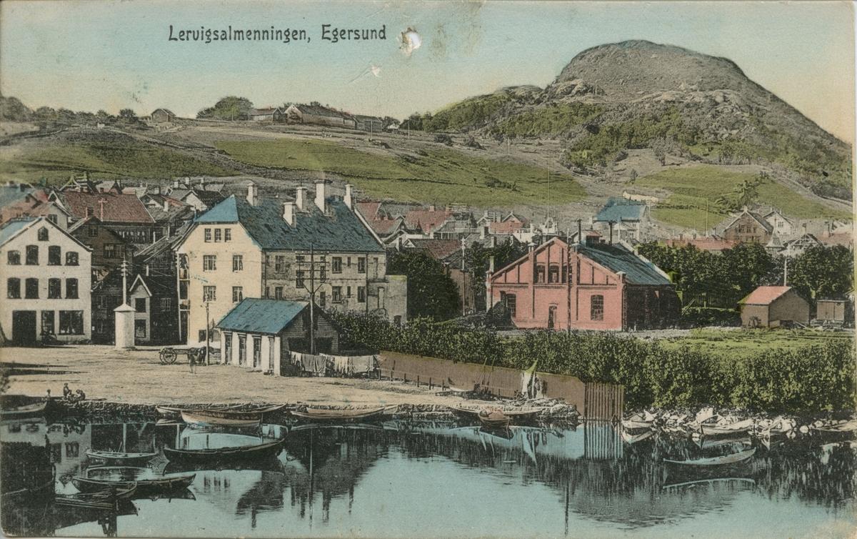 Lerviken, Egersund ca. 1912.