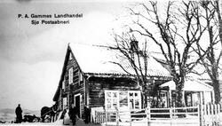P.A. Gammes Landhandel    Sjø Postaabneri