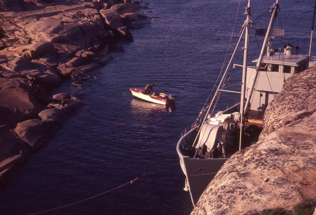Felt 1967. Forskningsskute og Liten motorbåt, tilrigging.