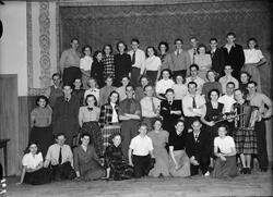 Grupporträtt, Lantbrukshögskolan, Uppsala 1949