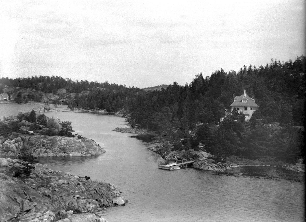 Huset på Buøya der Else Marie Erichsen ble født