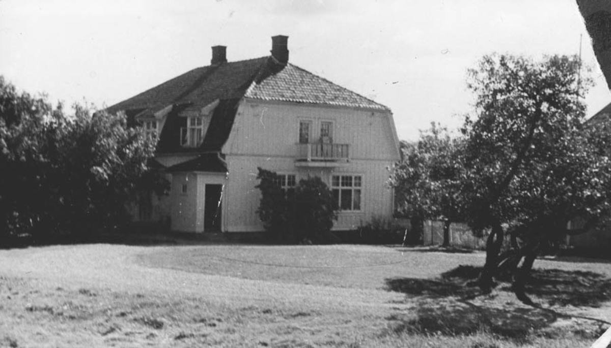 Hebek gård.  Hovedbygning
