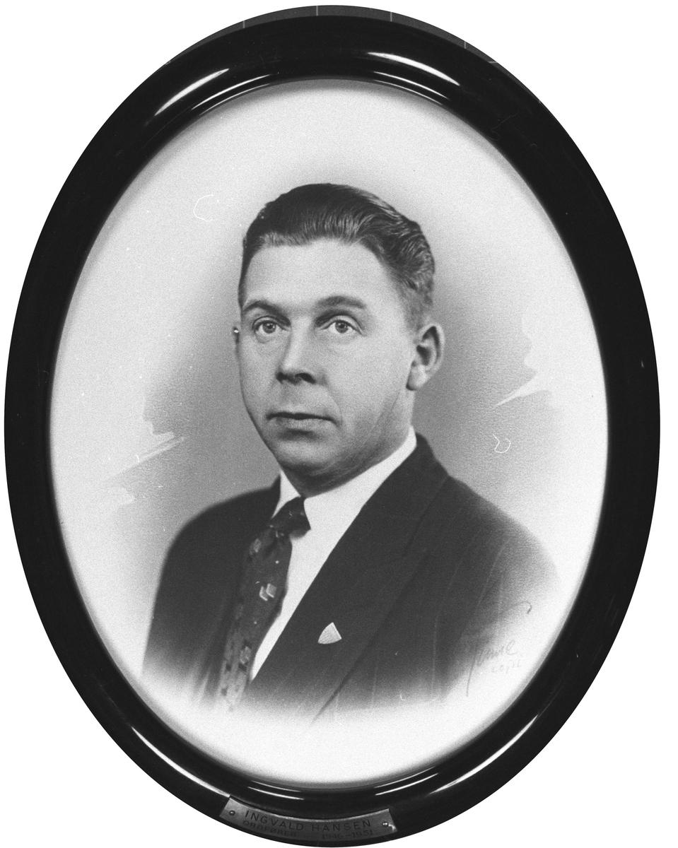 Ordfører  Ingvald Hansen 1946-9151