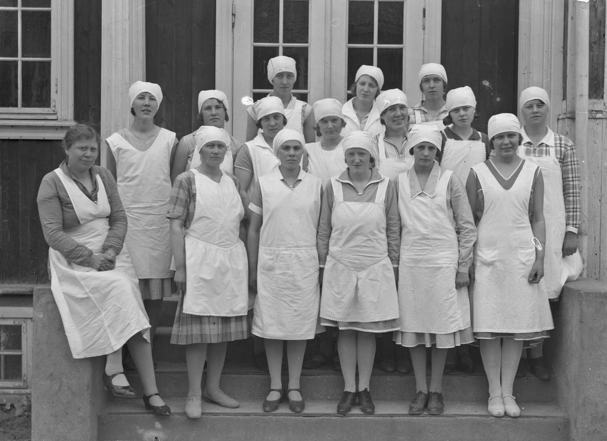 Eidsvoll Kommunale husmorskole. Bestyrer og lærer (1912-50): Ingeborg Hilde.