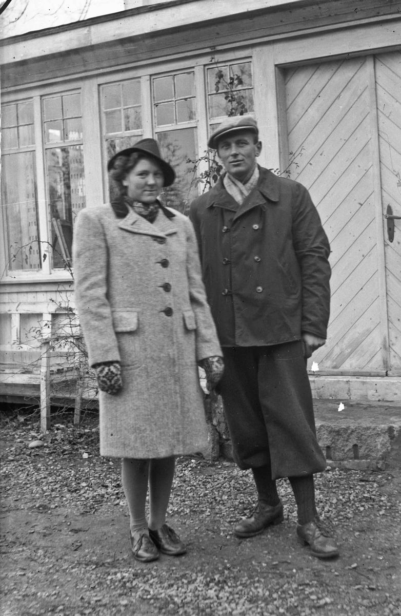 Kristian Bjercke og Ingrid f. Westad