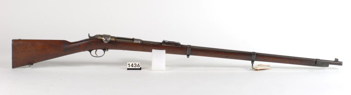 Prøvegevær 10,15 Jarmann M1881