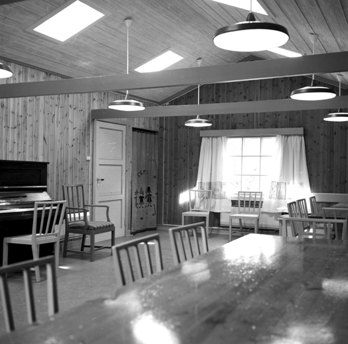 Folkehøyskole, musikkrommet