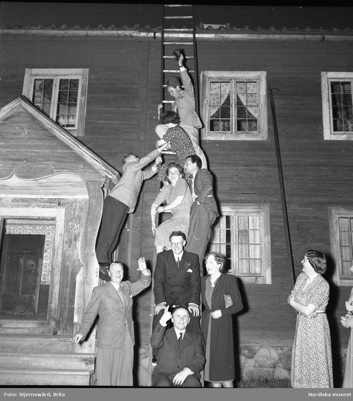 Gotthard Gustafssons (1902-1950) 40-års fest 1942.