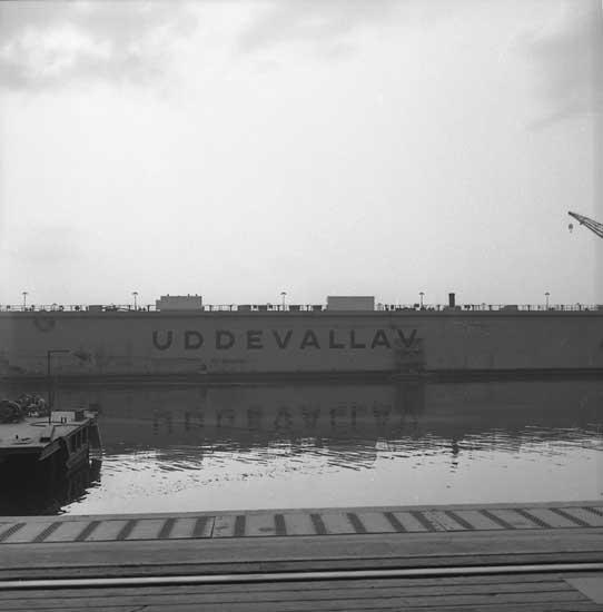 Flytdockan på Sörvikvarvet.