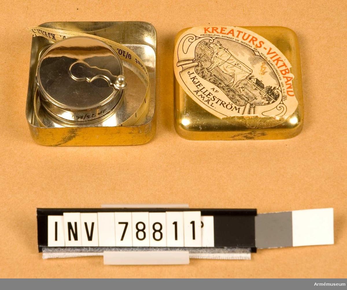 Grupp I III.   2 st. Svenskt patent nr 2557 år 1890.