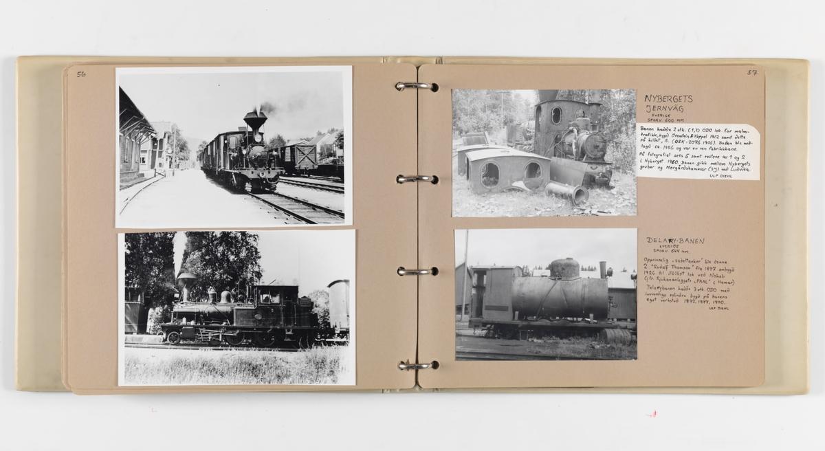 Trygve Panhoffs foto- og avisutklippsalbum nr. 1