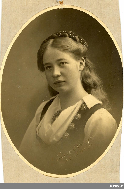 Ingerid Halvorsdotter Høibø, portrett