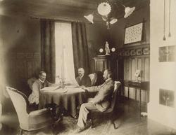 Ledelsen ved M. Thams & Co., Christian, Marentius og Wilhelm