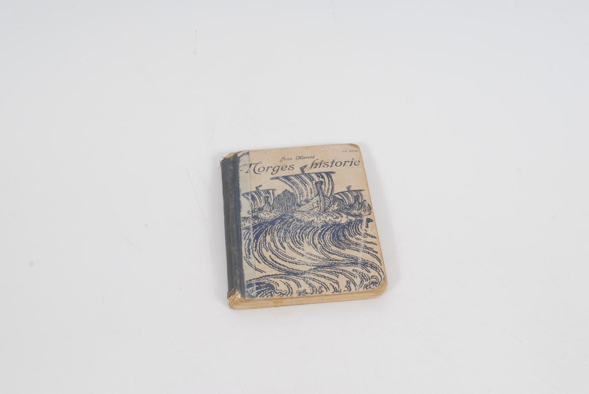 vikingskip på store bølger