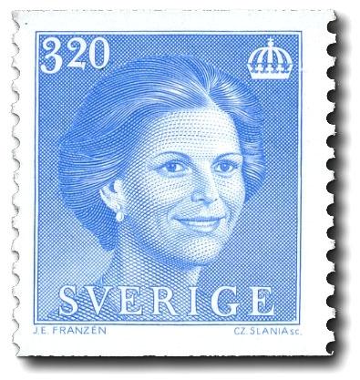 Drottning Silvia, typ II.